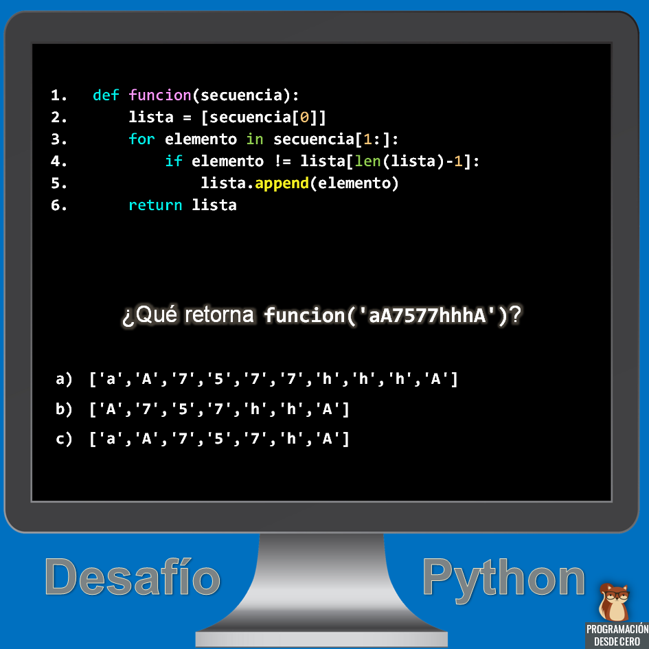 Desafío Python número 2