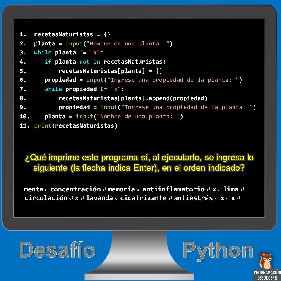 Desafío Python número 3