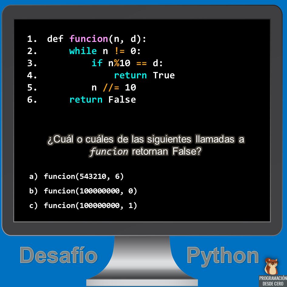 desafío Python número 5