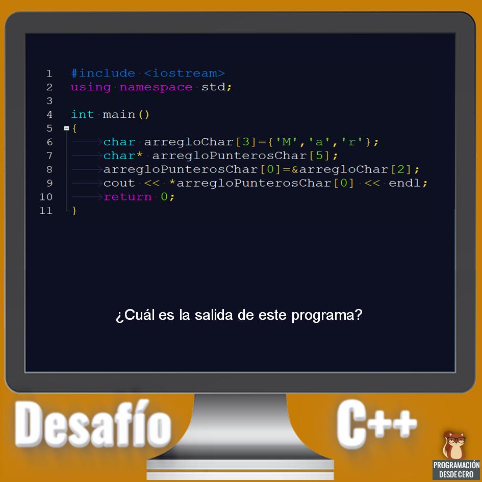 Desafío C++ 4