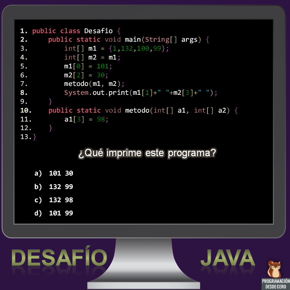 desafío Java número 1