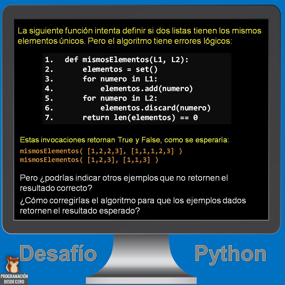 Desafío Python número 8