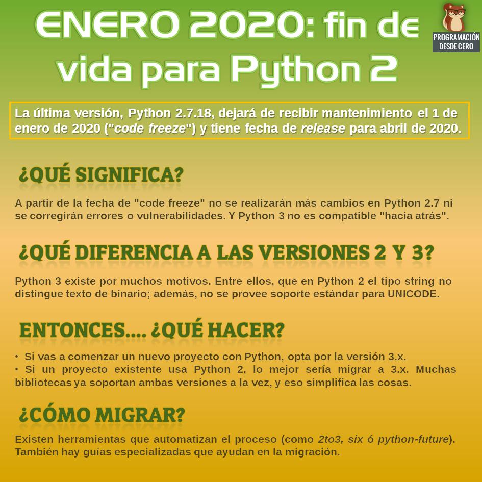 Python 2 EoL