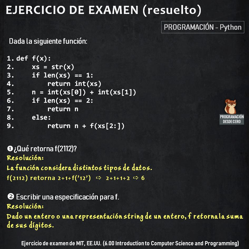 Ejercicio Python de MIT