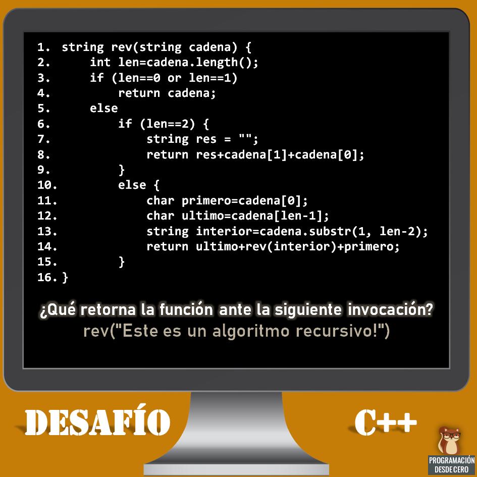 desafío C++ número 5