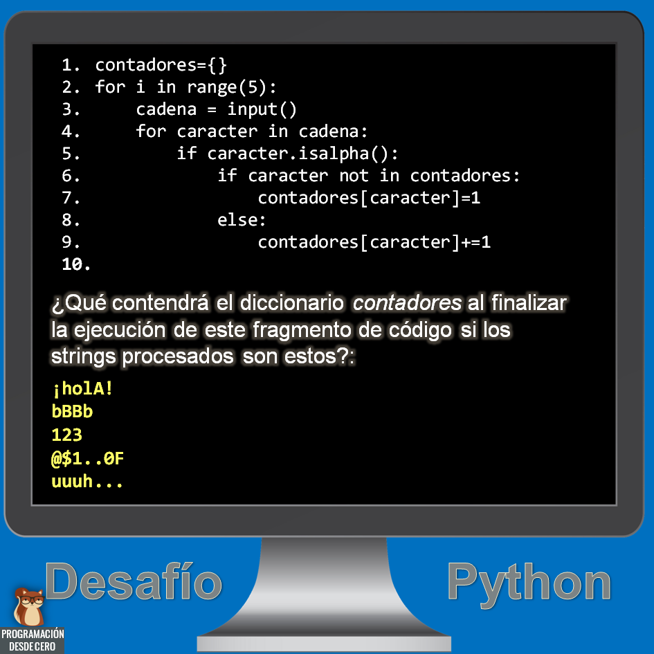 desafío Python número 9
