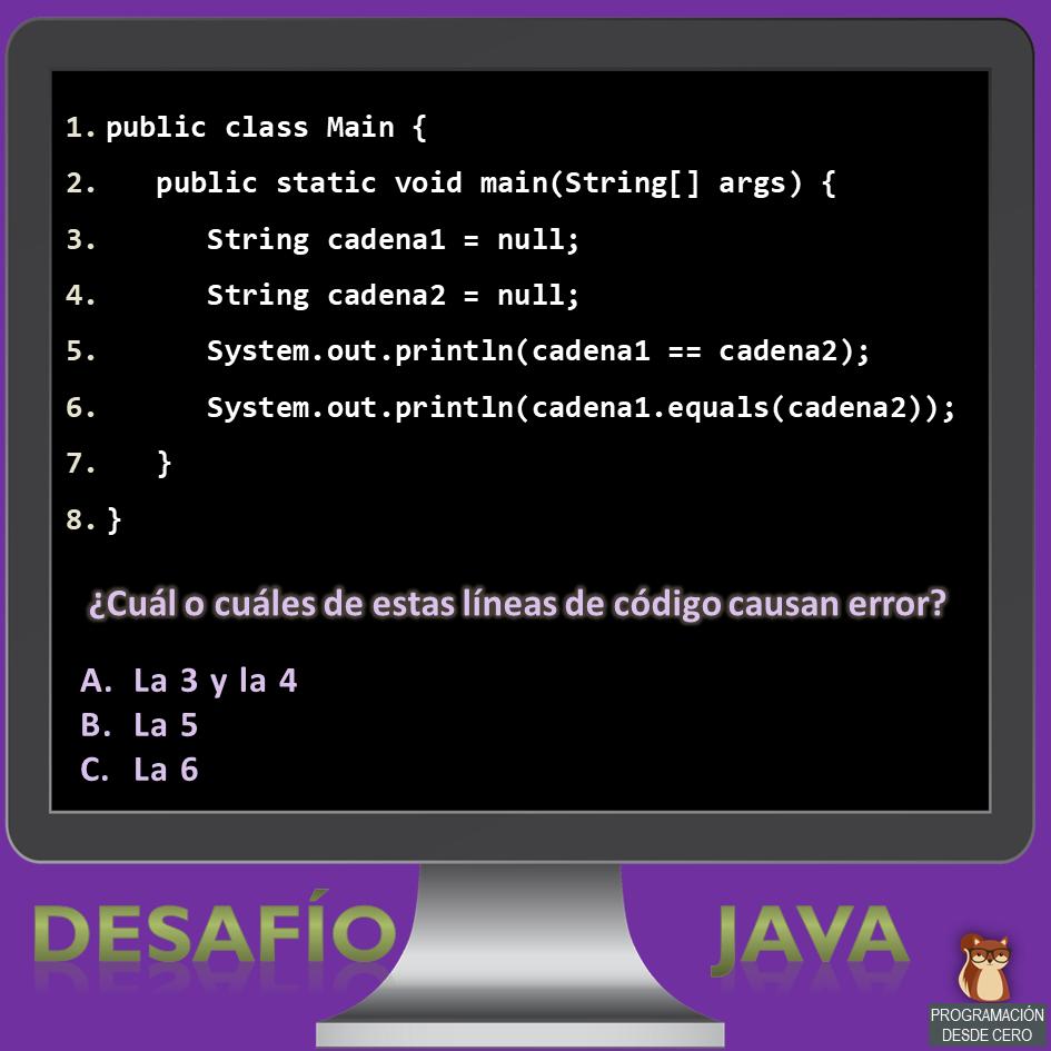 Desafío Java número 3