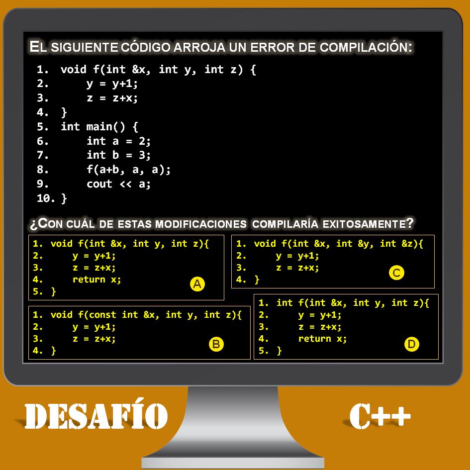 Desafío C++ número 6