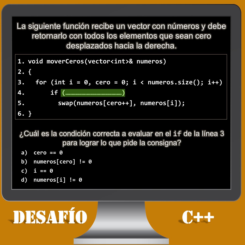 Desafío C++ número 7