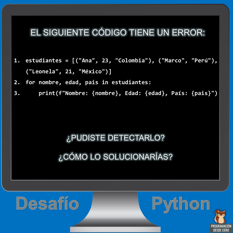 Desafío Python número 10